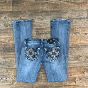Miss Me Bootcut Jeans Size 26!